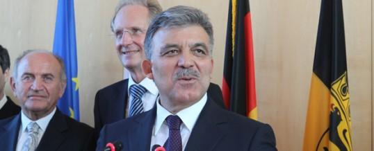 Türkischer Staatspräsident zu Gast bei OB Schuster