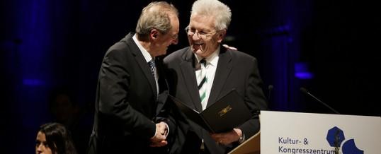 Ministerpräsident ernennt Wolfgang Schuster zum Professor